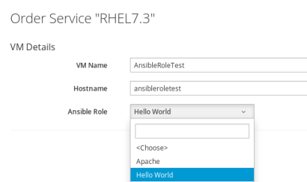 Run ansible role from ansible server without tower