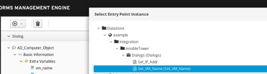 select instance